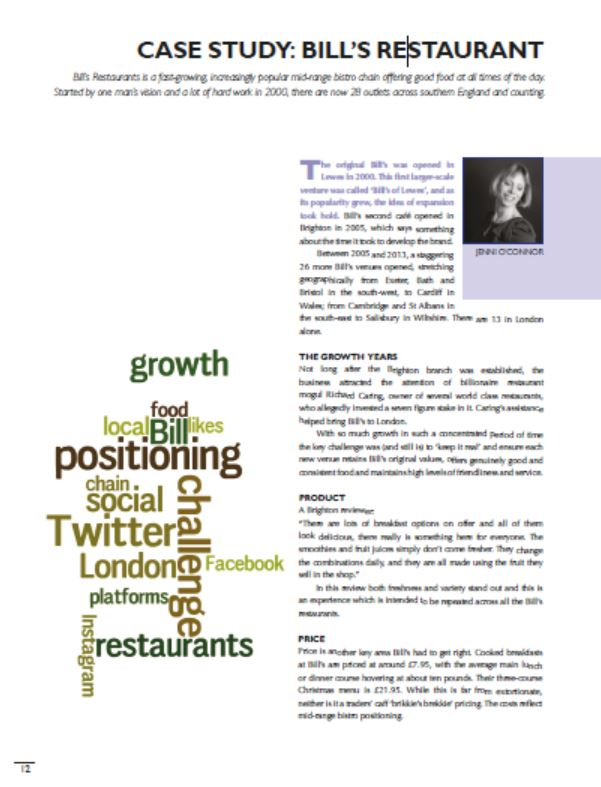 marketing case study soprano s ristorante View notes - businessmarketing2256 from marketing 351 at university of alabama case study 9 palios ristorante angelina has an interesting business strategy she has tried to implement in order to.