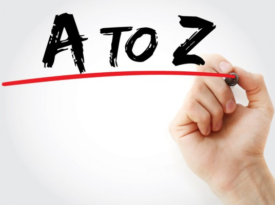 An A to Z of Professional Services Marketing: Upcoming topics