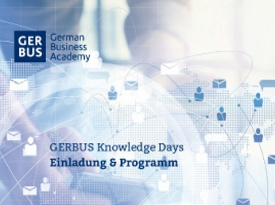 Kiran Kapur and Charles Nixon Head Up Gerbus Business School Knowledge Day